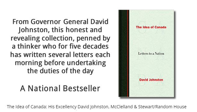 12-Week National Bestseller: The Idea of Canada