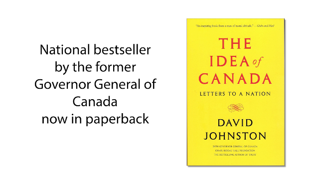 National Bestseller The Idea of Canada Now in Paperback
