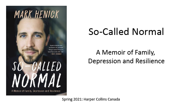 So-Called Normal, A Memoir of Family, Depression and Resilience